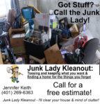 Junk lady ad